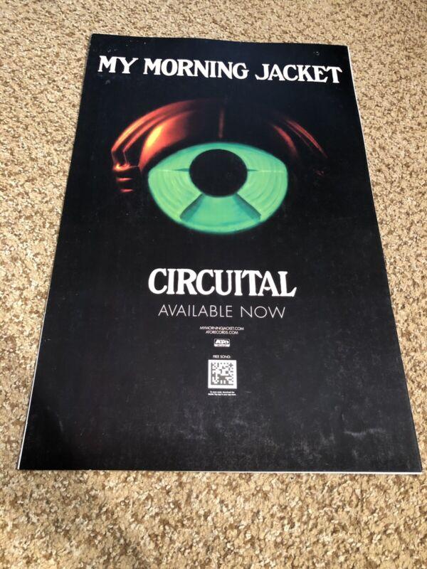 "My Morning Jacket Circuital Rare Original 14x22"" Music Poster 2011"