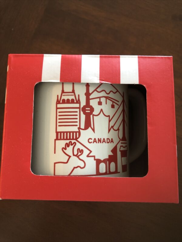 TIM HORTONS * Traveler's Collection CANADA Mug NEW In box SERIES 2 Voyageur 2019