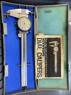 Mitutoyo Dial Caliper 6 Inch. Model 505-637-50