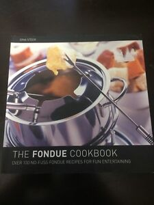 Fondu cookbooks