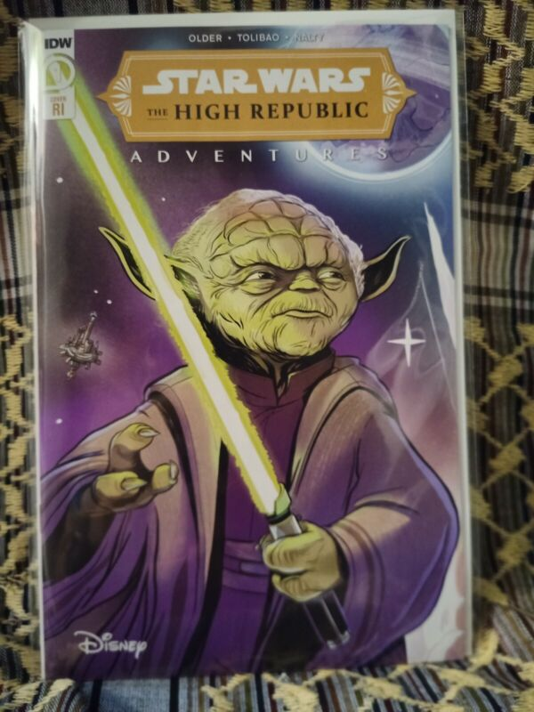 Star Wars High Republic Adventures #1 (IDW) 1:10 NM combine shipping