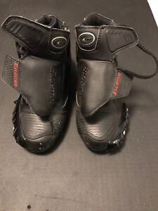 Motorcycle Boots - size 3 US