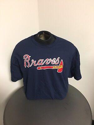 Braves Majestic MLB Team T-Shirt Braves Mlb T-shirt