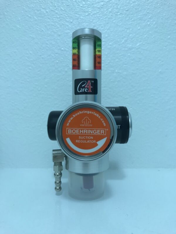"""""""Care 4"""" Boehringer Suction Regulator- Lowest price on internet w/ FREE SHIPPING"""