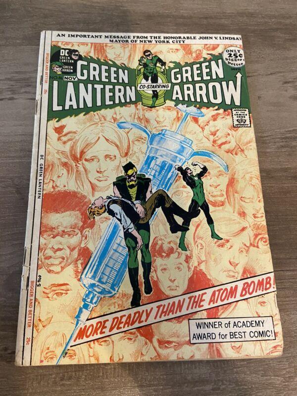 Green Lantern #86 (Oct-Nov 1971, DC)