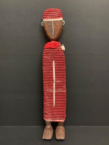 AFRICAN ART NAMJI BEADED DOLL