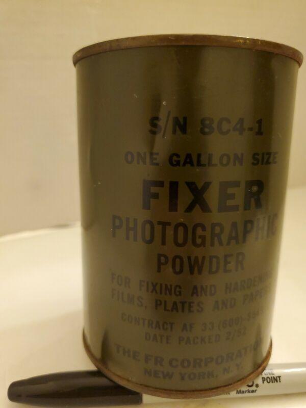 Vintage Fixer Photographic Powder....J26