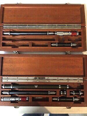Vintage Brown And Sharpe Inside Micrometer Machinist Tool.