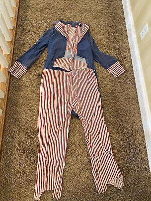 1940s WW2 Uncle Sam Costume 40s Vtg WWII Patriotic Halloween Homefront 34