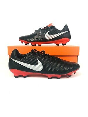 New Nike Tiempo Legend VII Pro FG Mens Soccer Cleats Black Red AH7241-006