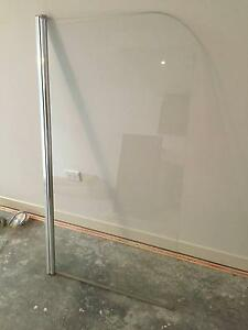 Semi frameless hinged shower screen. Ready to take away Narrabeen Manly Area Preview