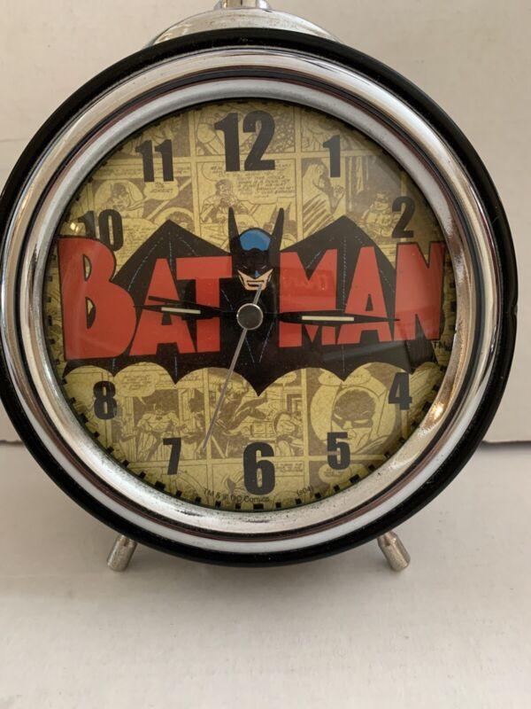 Vintage Classic Batman Retro-Style Alarm Clock