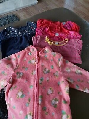 Baby girl clothes bundle 12-18 months , 5 Items
