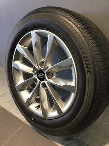 "HYUNDAI I30 I40 I45 16"" GENUINE ALLOY WHEELS AND TYRES Carramar Fairfield Area Preview"