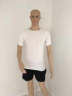 HUGO BOSS  ORANGE NEUF T Shirt    BLANCHE