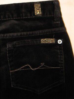 7 für Alle Kleine Mädchen Schwarz samt Bootcut Jeans Sz 10 W Stretch Kleine Mädchen Jeans Schwarz