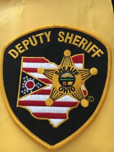 Generic Ohio Deputy Sheriff Police Patch