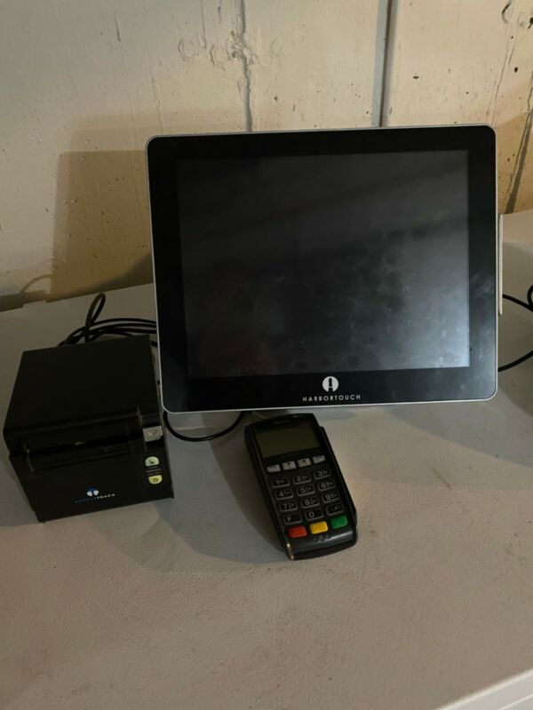 """15"""" All in One Touch Screen POS System Restaurant/ Retail Point of"""