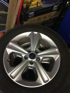 4 Ford Escape Rims and tires 235 55 17