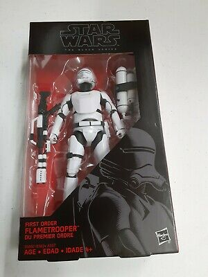 Hasbro Star Wars The Black Series 6 inche First Order Flametrooper Action Figur…