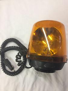 Amber 12v beacon light