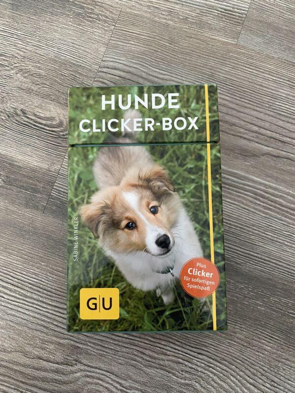 Hunde-Clicker-Box von Sabine Winkler (2016, Gebundene Ausgabe)