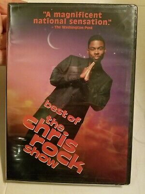 NEW SEALED The Best of the Chris Rock Show DVD comedy HBO video FAST FREE (The Best Of Chris Rock)