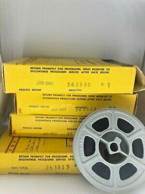 VINTAGE KODACHROME II 16MM COLOUR MOVIE FILM 50 FT DAYLIGHT ROLL  EXP 1959/1960
