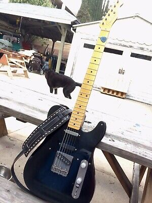 Glendale guitars Telecaster Complete Guitar Raw Deal Signed ZZ Top Billy Gibbons