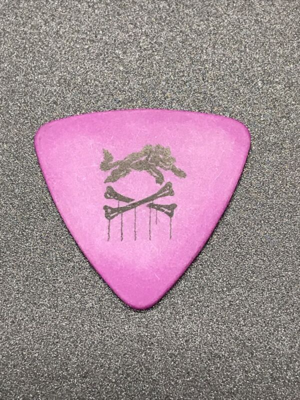 The Cult Chris Wyse Authentic Tour Used Guitar Pick