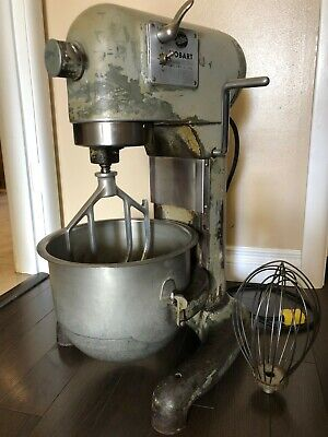 Hobart C100 Commercial Bakery Mixer 3-speed With 10 Quart Bowl Plus Accessories