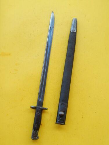 NICE  ENFIELD 1907- Mk111 SWORD BAYONET /SCABBARD - 1910 -- EFD