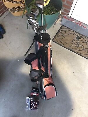 Wilson Golf Clubs & Bag & Balls & Tees Womans Youth lightweight for sale  Pittsburgh