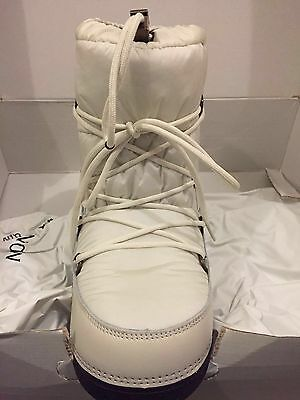 New W  Tags Moncler Logo Snow Ski Moon Winter Boots Shoes