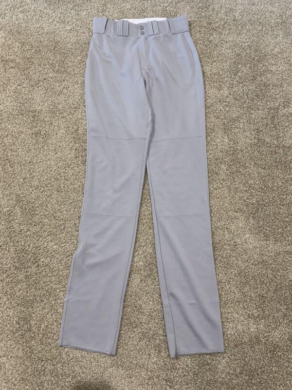 Majestic Baseball Pants Grey New