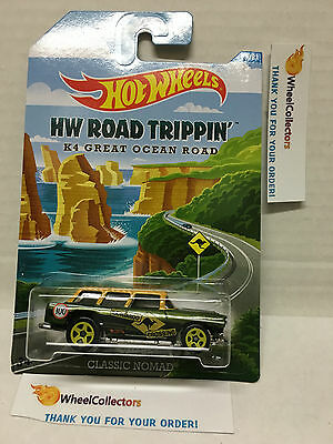 Classic Nomad K4 Great Ocean Road * 2015 Hot Wheels Road Trippin Series * (Great Classic Cars)