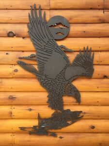 CNC plasma cut out, metal cutouts, wall decor, cottage, rustic