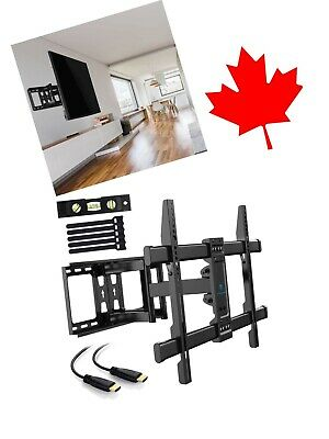 TV Wall Mount for 37 to 70 inch LED LCD OLED Plasma TV W/ Dual Articulating Arm