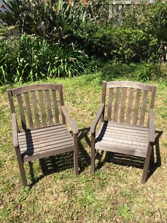 Garden chair Huntleys Cove Hunters Hill Area Preview