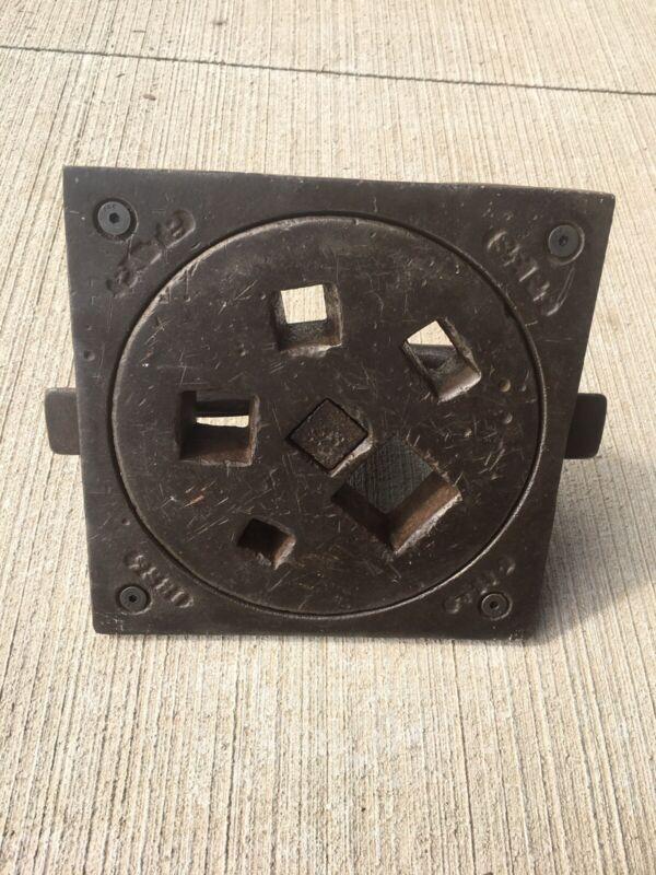 Pexto Revolving Stake Plate Blacksmith, Tinsmith, Rotating. Rarest Of The Plates