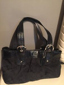 Coach Handbag Black Authentic