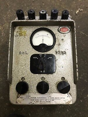 Vintage James Biddle Megger Ground Tester Null Balance Earth Resistance