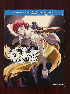 Sealed  Outlaw Star   Complete Collection  Blu Ray Dvd  2017  7 Disc  Anime Lot