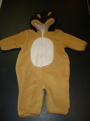Unisex Boys Girls Baby Gap Lion Halloween Costume Hooded Small 3-6 months - Halloween Costumes Baby Gap