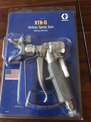 Graco Xtr502 Xtr-5 Airless Spray Gun Oval-insulated Handle 4-finger Trigger