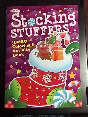 KAPPA JUMBO COLORING & ACTIVITY BOOK STOCKING STUFFERS CHRISTMAS NEW KID HOLIDAY - Kids Activity Book