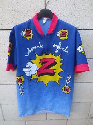 Maillot cycliste Z PEUGEOT Tour de FRANCE 1988 Duclos-Lassalle vintage shirt XL