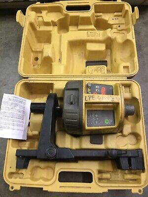 Topcon Rl-vh3d Hv Red Rotary Laser Level With Scan Card Clamp - 86