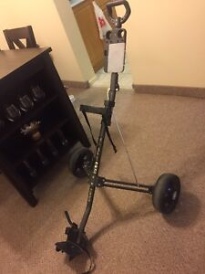 Golf bag pull cart