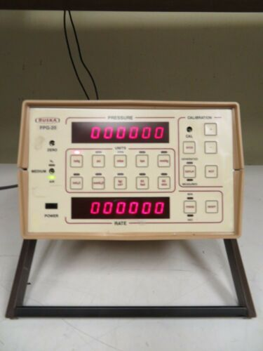 Ruska PPG-20 6210-801-C Pressure Calibrator/Calibration unit - MS46